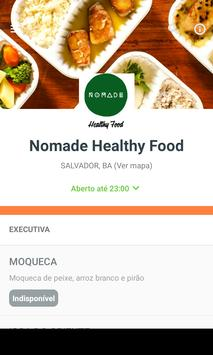 Nomade Healthy Food poster