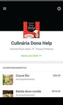 Culinária Dona Help poster