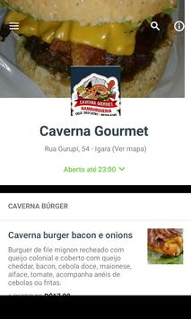 Caverna Gourmet poster