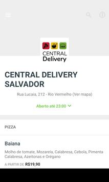 Central Delivery Salvador poster