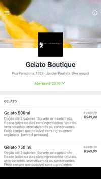 Gelato Boutique poster