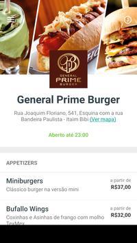General Prime Burger Delivery poster