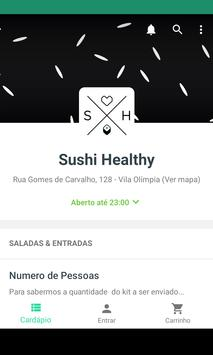 Sushi Healthy poster