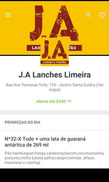 J.A. Lanches poster