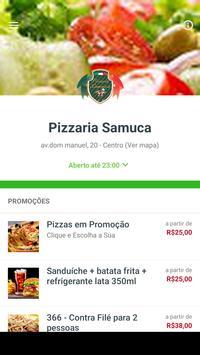 Pizzaria Samuca poster