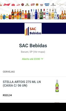 SAC Bebidas poster