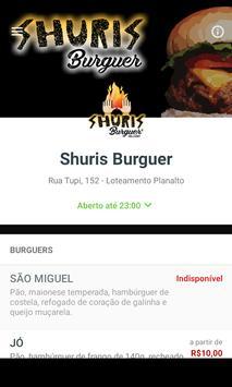 Shuris Burguer poster