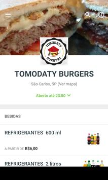 TOMODATY BURGERS poster