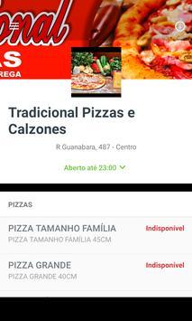 Tradicional Pizzas e Calzones apk screenshot