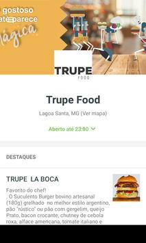 Trupe Food poster