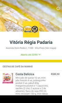 Vitória Régia Padaria apk screenshot