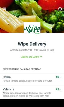 Wipe Delivery poster