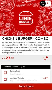 Link Burger screenshot 2
