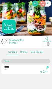 Salada do Bem poster