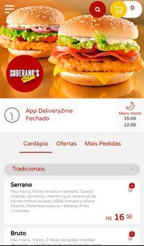 Soberano's Burger poster
