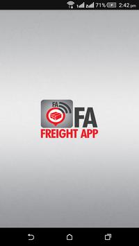 FA – Freight App poster