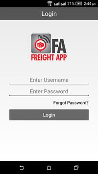 FA – Freight App apk screenshot