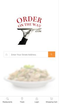 Order On the Way Delivery Service poster