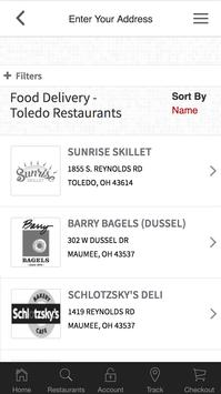 Order On the Way Delivery Service apk screenshot