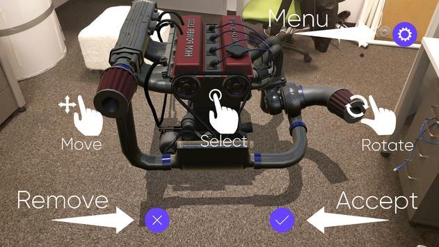 AR Engine by Delivr screenshot 2