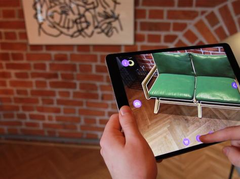 AR Furniture by Delivr poster