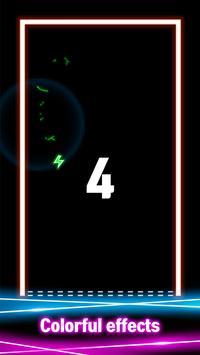 Neon Space Bounce screenshot 1