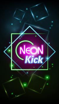 Neon Space Bounce screenshot 2