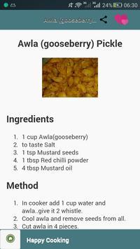 Pickle Recipe apk screenshot