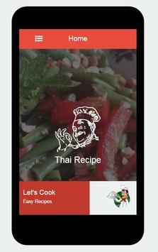Delicious Recipes Thai apk screenshot