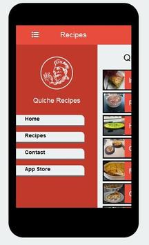 Delicious Recipes Quiche apk screenshot