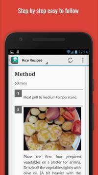 Delicious Rice Recipes apk screenshot