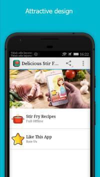 Delicious Stir Fry Recipes poster