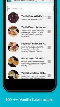 Delicious Vanilla Cake Recipes screenshot 1