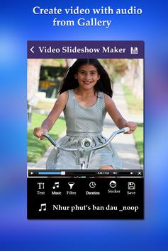 Photo Video Slideshow Maker screenshot 1