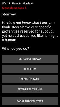 Demon's Choice: Text Adventure RPG screenshot 5