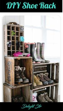 DIY Shoes Rack poster