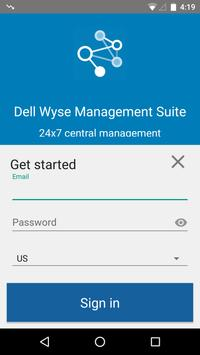 Dell Wyse Management Suite poster