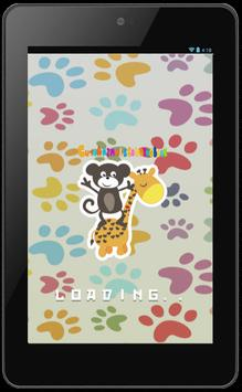 Cute Animals Coloring Book poster
