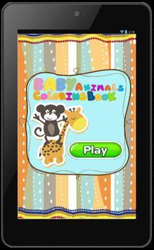 Cute Animals Coloring Book screenshot 1