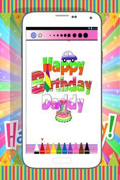 Happy Birthday Coloring Book screenshot 4