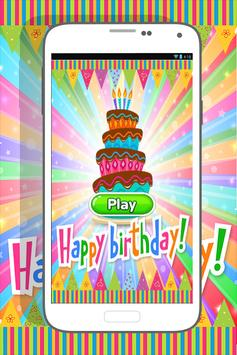 Happy Birthday Coloring Book poster