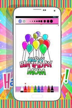 Happy Birthday Coloring Book screenshot 3