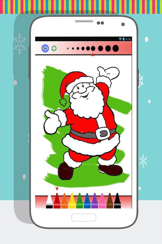 Santa Claus Mewarnai Buku For Android Apk Download