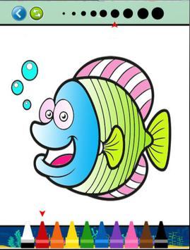 Sea Animals Coloring Book screenshot 4