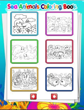 Sea Animals Coloring Book screenshot 1