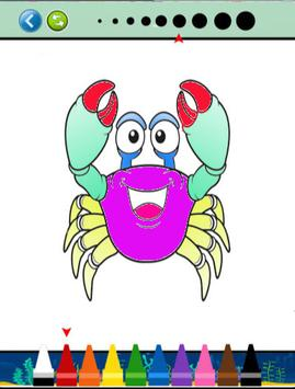 Sea Animals Coloring Book screenshot 3