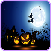 Bubble Halloween icon