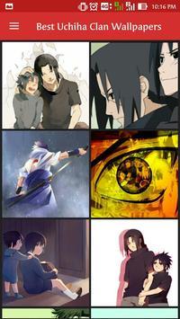 Best Uchiha Clan Wallpapers screenshot 2