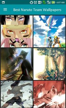 Best Naruto Team Wallpapers apk screenshot