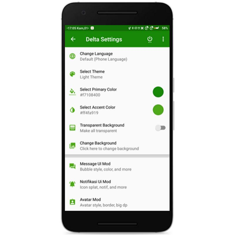 Delta Bbm Green Theme Apk Download Free Books Reference App For